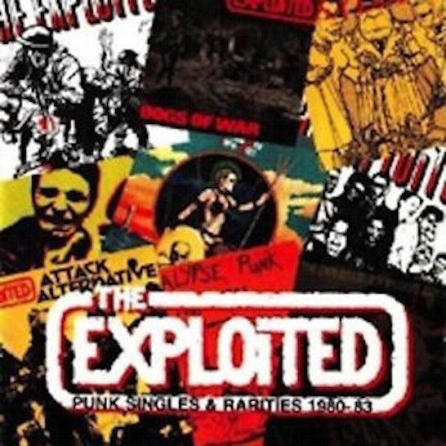The Exploited PUNK SINGLES 1980-83 Vinyl Record