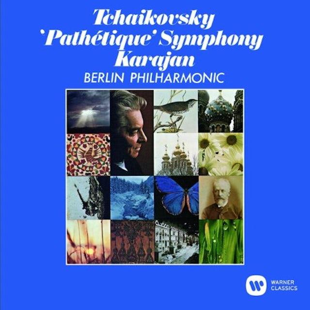 Herbert Von Karajan TCHAIKOVSKY: SYMPHONY NO.6 'PATHETIQUE CD