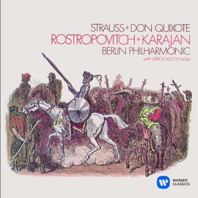 Herbert Von Karajan RICHARD STRAUSS: DON QUIXOTE CD