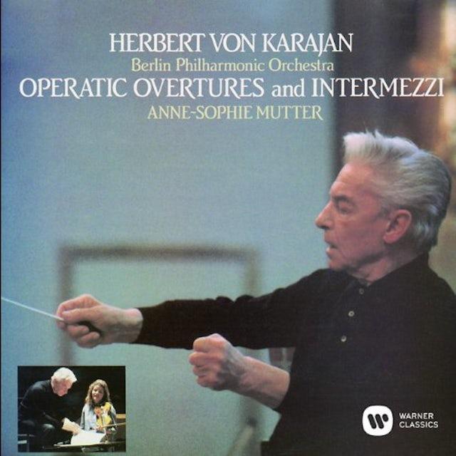 Herbert Von Karajan OPERATIC OVERTURES & INTERMEZZI CD