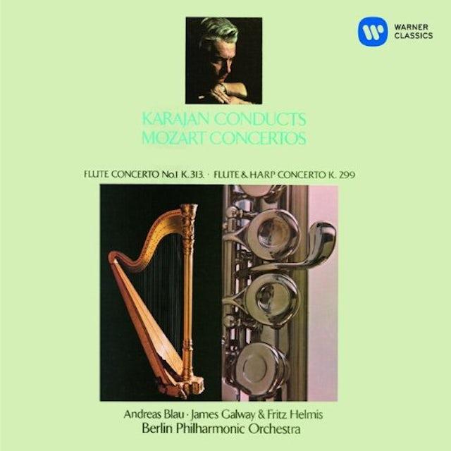 Herbert Von Karajan MOZART: FLUTE CONCERTO NO.1 ETC. CD