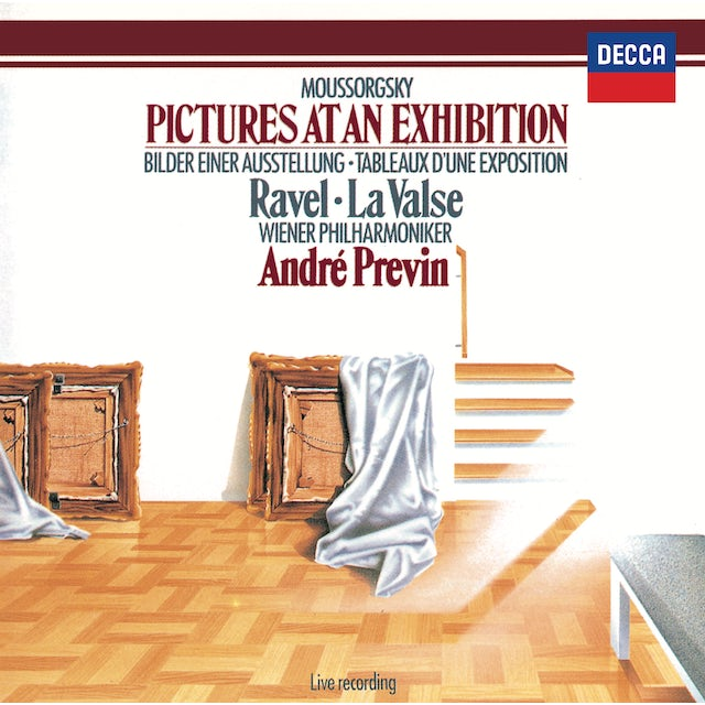Andre Previn MUSSORGSKY-RAVEL: PICTURES AT AN EXHIBITION CD