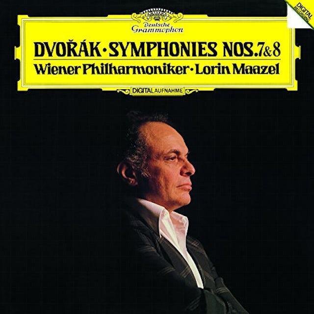 Lorin Maazel DVORAK: SYMPHONIES NOS.7 & 8 CD