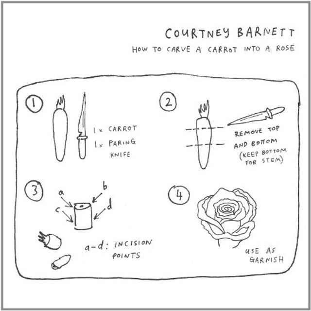 Courtney Barnett HOW TO CARVE A CARROT INTO A ROSE (GER) (Vinyl)