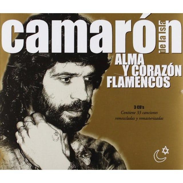 Camaron De La Isla ALMA Y CORAZON FLAMENCOS CD