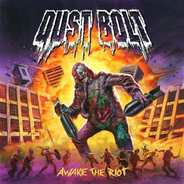 Dust Bolt AWAKE THE RIOT (GER) Vinyl Record