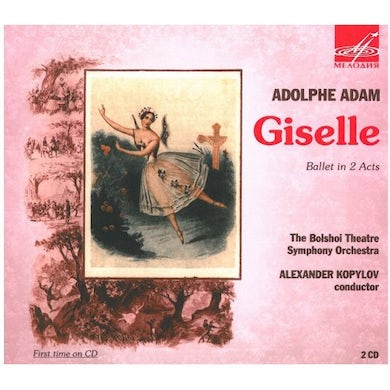 ADAM GISELLE BALLET IN 2 ACTS CD