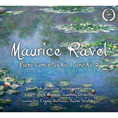 Ravel PIANO CTOS NOS 1 & 2 CD