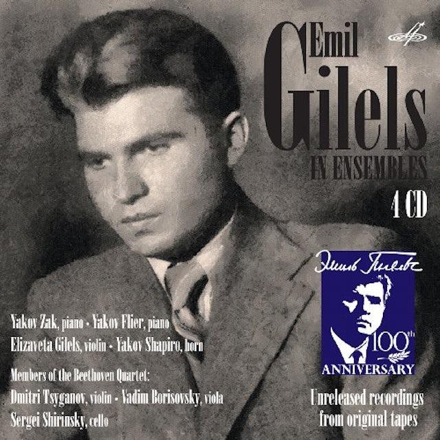 Mozart EMIL GILILS IN ENSEMBLES CD