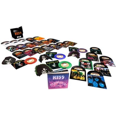 """Kiss The Casablanca Years: Limited Edition 29-Disc 7"""" Collection (Vinyl)"""