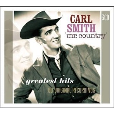 Carl Smith MR. COUNTRRY CD