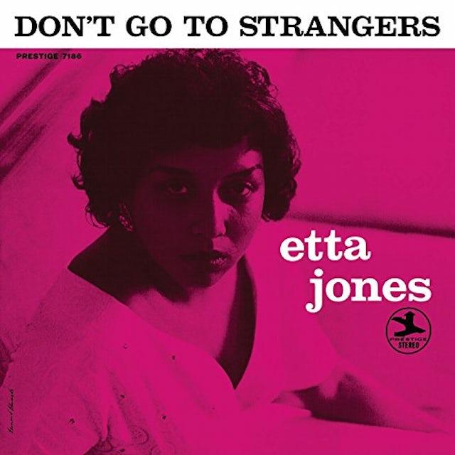Etta Jones DON'T GO TO STRANGERS Vinyl Record