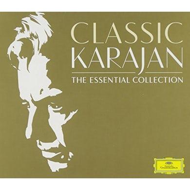 Herbert Von Karajan  CLASSIC KARAJAN: THE ESSENTIAL COLLECTION CD