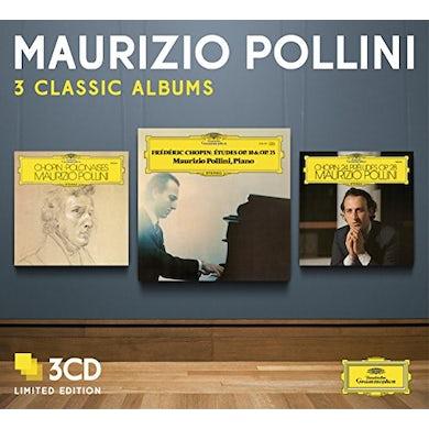 Maurizio Pollini THREE CLASSIC ALBUMS CD