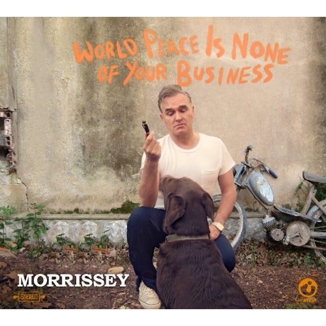 Morrissey WORLD PEACE IS NONE OF YOUR BUSINESS Vinyl Record