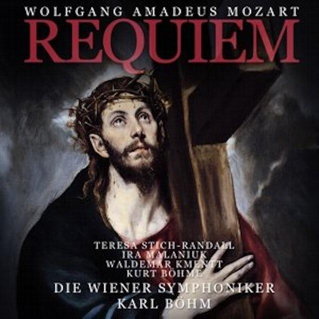 Wolfgang Amadeus Mozart REQUIEM CD