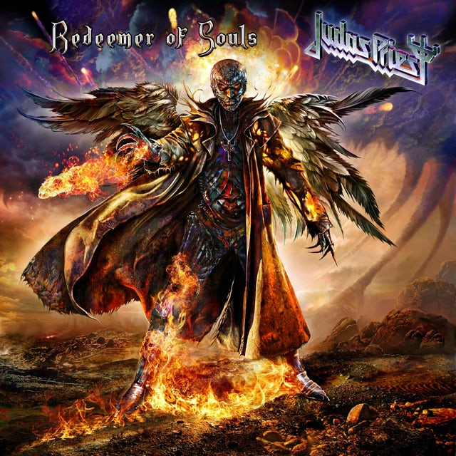 Judas Priest REDEEMER OF SOULS Vinyl Record