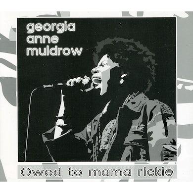 Georgia Anne Muldrow OWED TO MAMA RICKIE CD