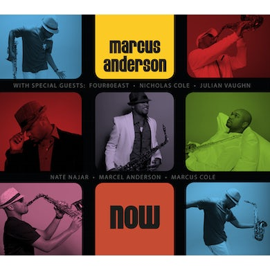 Marcus Anderson NOW CD