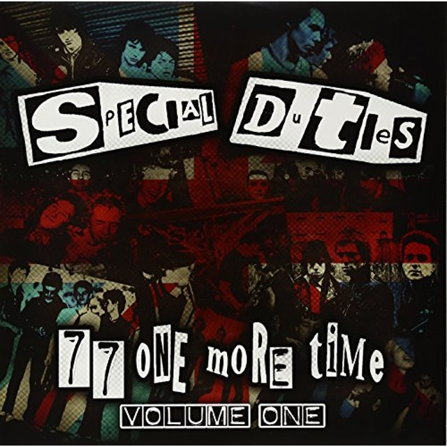 Special Duties 77 ONE MORE TIME 1 Vinyl Record