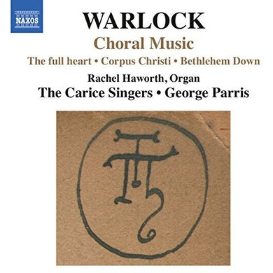 Warlock SONGS CD