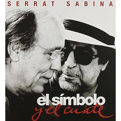 Serrat & Sabina EL SIMBOLO Y EL CUATE CD