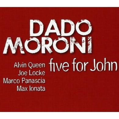 Dado Moroni FIVE FOR JOHN CD