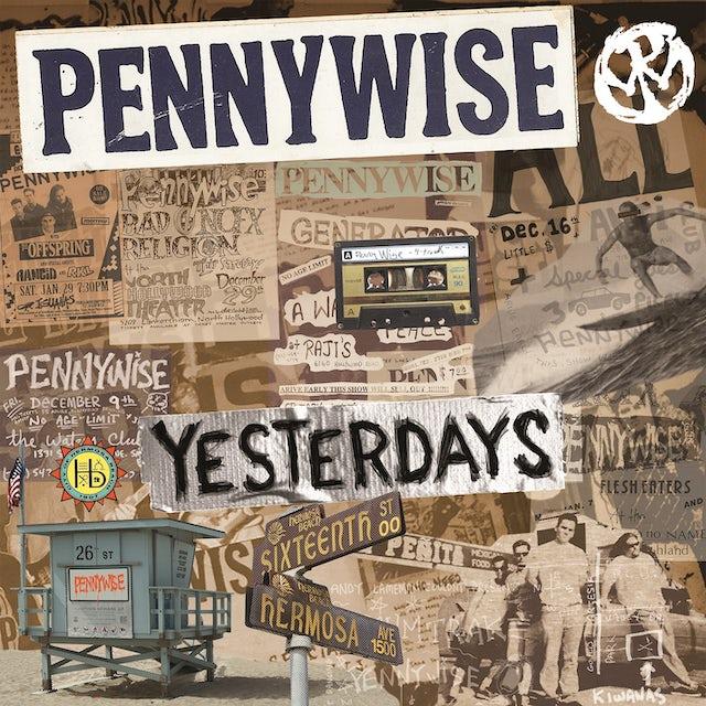 Pennywise YESTERDAYS Vinyl Record