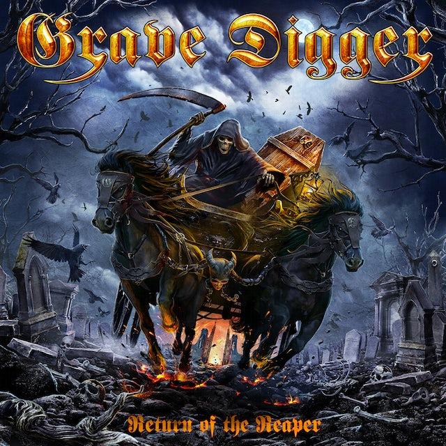 Grave Digger RETURN OF THE REAPER Vinyl Record