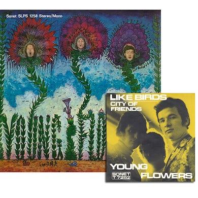 Young Flowers BLOMSTERPISTOLEN Vinyl Record