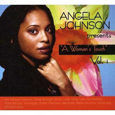 Angela Johnson WOMAN'S TOUCH 1 CD