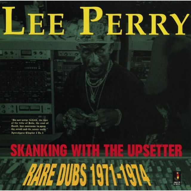 Lee Scratch Perry SKANKING WITH THE UPSETTER Vinyl Record