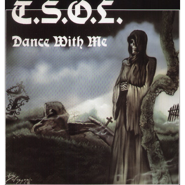 T.S.O.L. DANCE WITH ME Vinyl Record