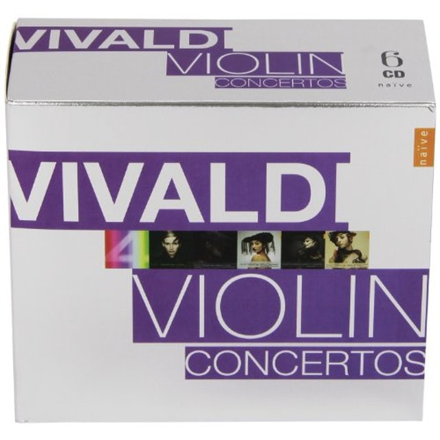 Vivaldi VIOLIN CONCERTOS CD