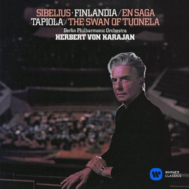 Herbert Von Karajan SIBELIUS: FINLANDIA. EN SAGA. TAPIOL CD