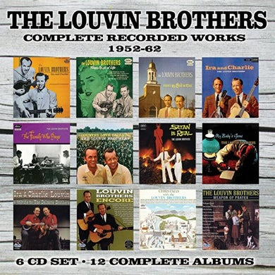 Louvin Brothers COMPLETE RECORDED WORKS: 1952-1962 CD