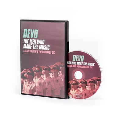 MEN WHO MAKE THE MUSIC / BUTCH DEVO & THE SUNDANCE DVD