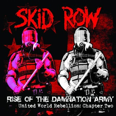 Skid Row RISE OF THE DAMNATION ARMY - UNITED WORLD CD