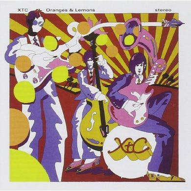XTC ORANGES & LEMONS CD