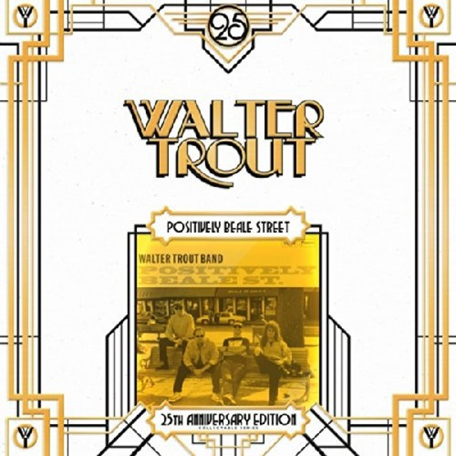 Walter Trout POSITIVELY BEALE STREET-25TH ANNIVERSARY Vinyl Record