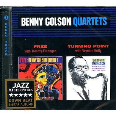 Benny Golson FREE + TURNING POINT CD