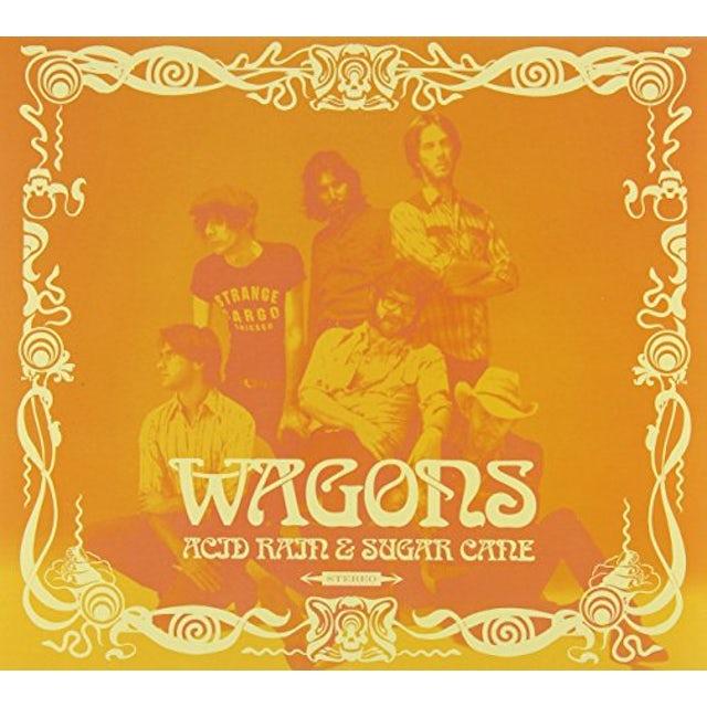 Wagons ACID RAIN & SUGAR CANE CD