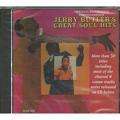 Jerry Butler ULTIMATE COLLECTION 31 CUTS CD