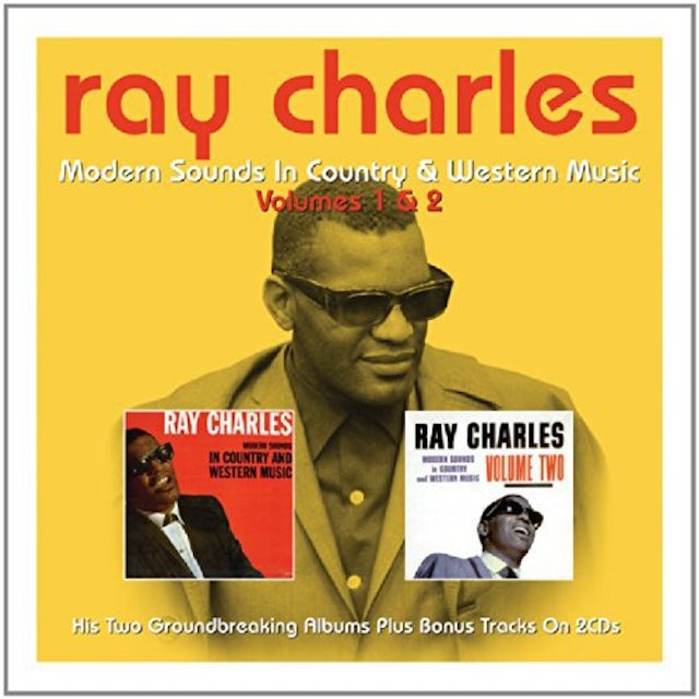 Ray Charles MODERN SOUNDS IN C & W CD
