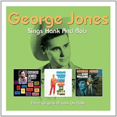 George Jones SINGS HANK & BOB CD