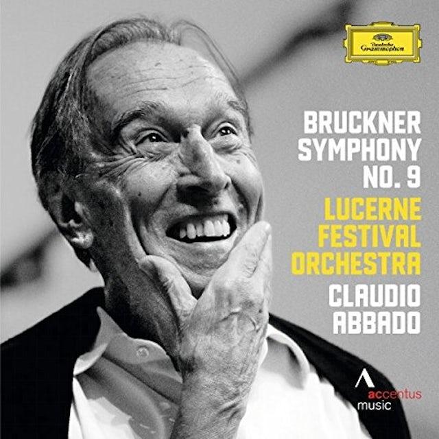 BRUCKNER / ABBADO / LUCERNE FESTIVAL ORCHESTRA SYMPHONY NO 9 CD