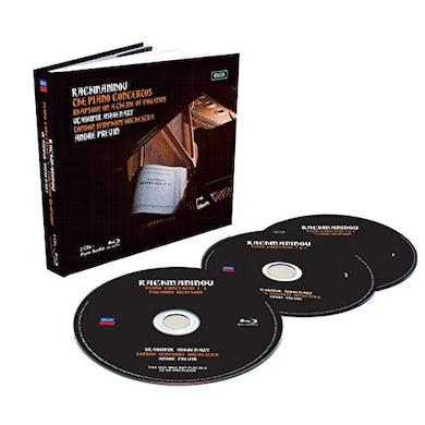 Vladimir Ashkenazy RACHMANINOFF PIANO CONCERTOS CD