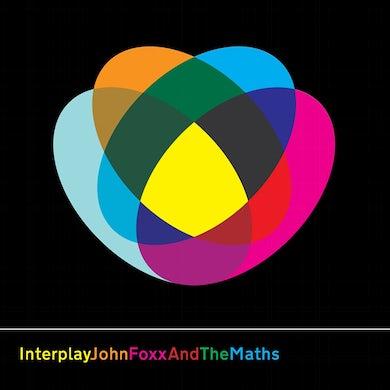John Foxx & The Maths INTERPLAY/SHAPE OF THINGS Vinyl Record - UK Release