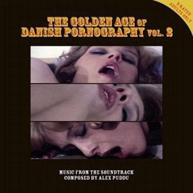 Alex Puddu GOLDEN AGE OF DANISH PORNOGRAPHY 2 Vinyl Record