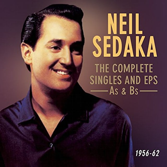 Neil Sedaka COMPLETE US SINGLES & EPS AS & BS 1956-62 CD